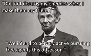 If Famous Presidential Quotes Were About Sports