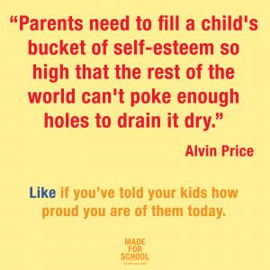 Alvin Price – The Bucket of Self-Esteem