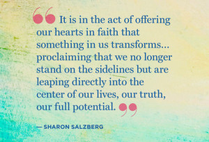 Sharon Salzberg quote