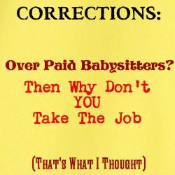 Quotes About Correctional Officers | Funny Officer Hat Man Quote