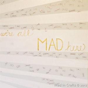 Craft Room: Magnetic Quote Door