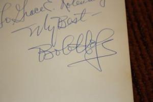 Bob Hope signed book, I Owe Russia $1200.