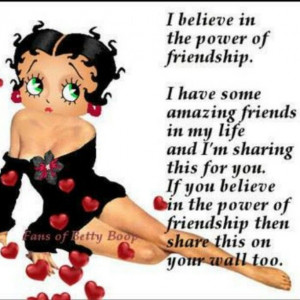 More like this: friendship , friends and betty boop .