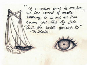 Quote - The Alchemist by lllRaRes0uLlll