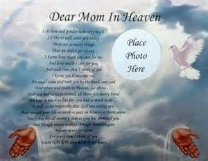 passed for moms passed sad death poems she passed away