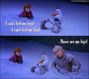 disney, frozen, funny, princess, quote, olaf