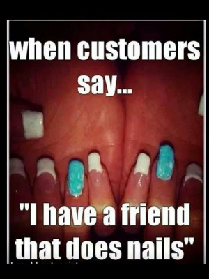 nail salon meme