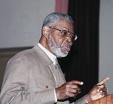 Ben-Jochannan lecturing in Brooklyn circa 1990s.