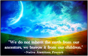 Environmental Sustainability Quotes and Sayings