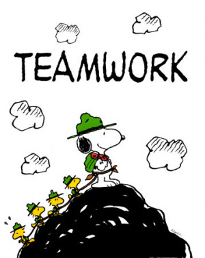 Daily Devotion, June 11, 2011 - Teamwork!