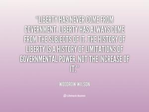 Woodrow Wilson Funny Quotes