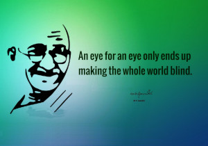 Gandhiji Nice Quotes wallpaper