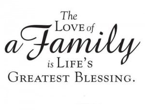 most of these famous quotes about family will tell you without family ...