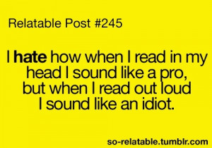 And stutter and go REALLY slow!!