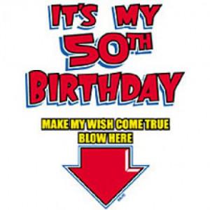 It's My 50Th Birthday T-Shirt