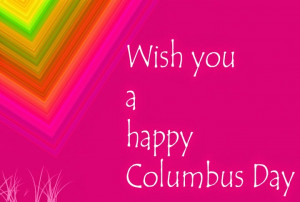 Columbus day quotes to share on Facebook page