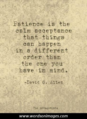 Inspirational quotes patience