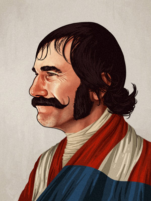 ... Butcher' Cutting (Daniel Day-Lewis) from Gangs of New York by Mike