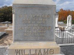 Josephine Rogers Otis Williams Wife