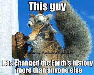 change, earth, fun, ice age, quote