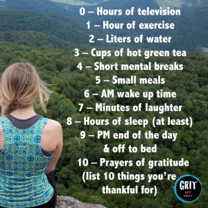 Healthy Habits for Sustained Success