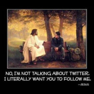 Jesus Christ & Twitter