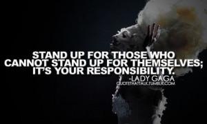 Lady Gaga Tumblr Quotes Lady gaga quotes / tumblr on