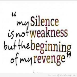 Revenge Quotes revenge hatred hate silence