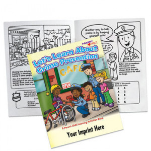 LET'S LEARN ABOUT CRIME PREVENTION PARENT & CHILD ACTIVITIES BOOK
