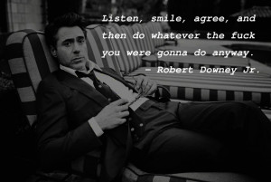 Listen, smile, agree… – Robert Downey Jr. [1280x860]