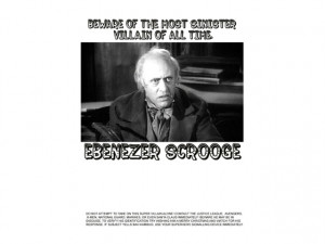 scrooge quotes