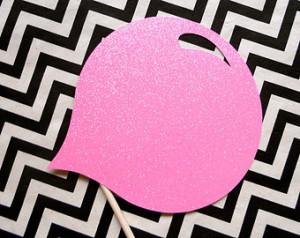 ... Gum Photo Booth Prop . Photo Booth Props . Bubble Gum Bubble . Bubble