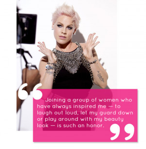 Pink The Singer Quotes Featuring a great quote.