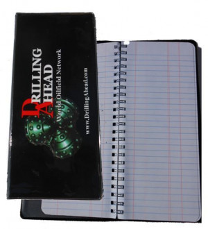 Drill Pipe Tally Book Oilfield Roughneck Drilling Rig Oil Petroleum ...