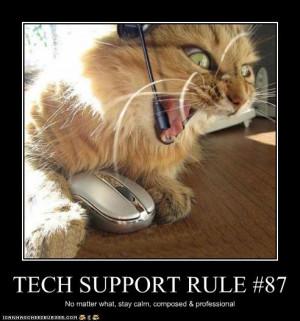 Purrrrrfect Tech Support