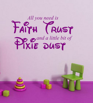 Tinkerbell Quotes Pixie Dust