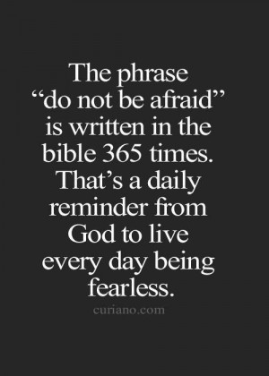 ... Afraid, God Is, Christian Quotes, Quotes Girl, The Bible, Cancer Quote