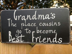 Cousins are your first best friends!