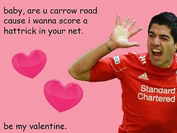 Liverpool Valentines Day cards inspired by Chelsea's and Arsenal's ...