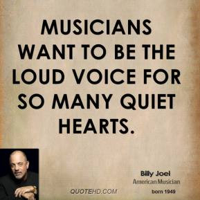 Billy Joel Inspirational Quotes