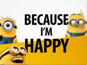 Most popular tags for this image include: minions, happy and yellow