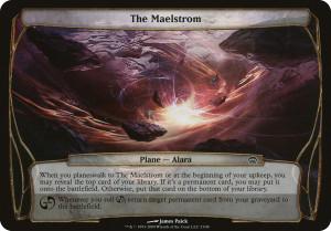 Plane Planechase The Maelstrom