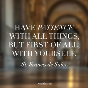 Quotes From St Francis De Sales