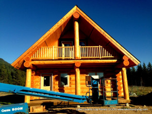 keystone log cabin chalet