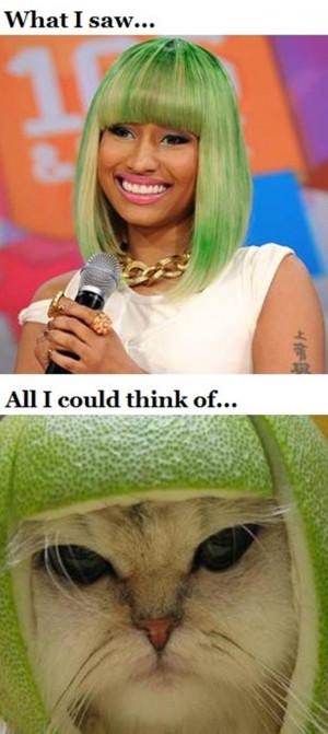 Nicki Minaj Funny Quotes http://www.vitamin-ha.com/funny-nicki-minaj ...