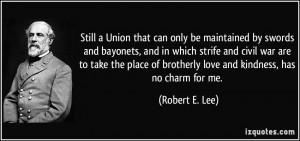 Civil War Robert E Lee Quotes