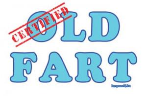 Barry's World > Wacky Words > Certified Humor > Certified Old Fart