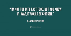fast food quotes