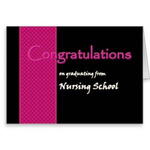 Congratulations Nursing Graduate