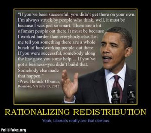 Obama's Stunning Redistribution of Wealth - It's Going on Right Now!!!